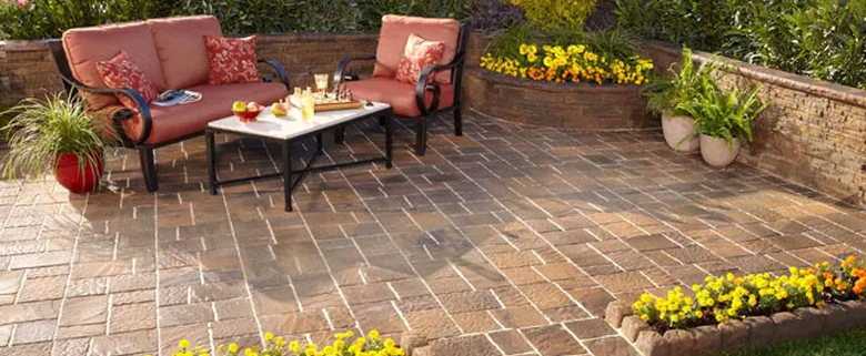 Howell Brothers Stone Patio Installations